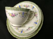 Art Deco period SUTHERLAND china tea trio